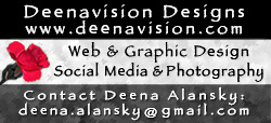 Deenavision Designs–Deena's New Portfolio Website