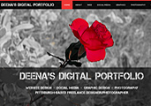 Deenavision Designs–Deena's New Digital Portfolio Website!