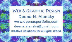 Deena's Business Card